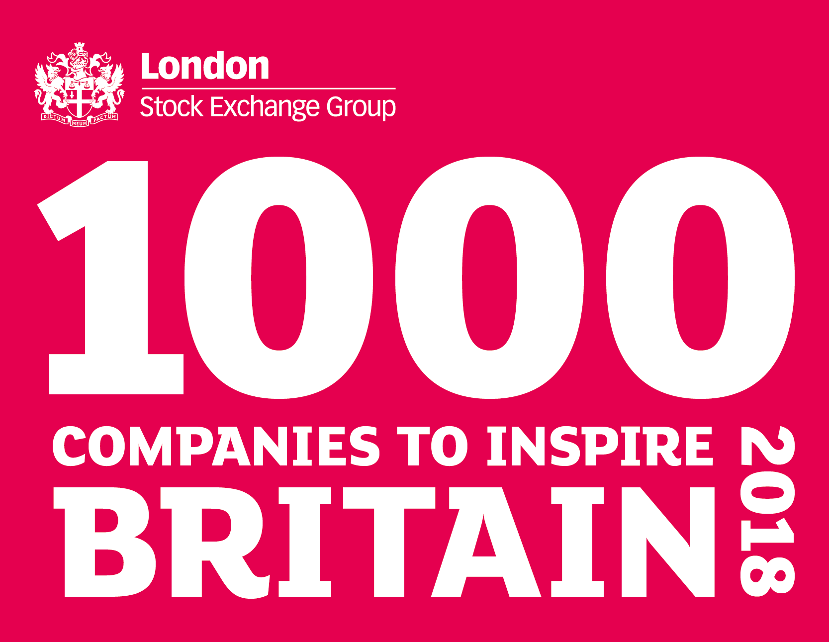 London Stock Exchange 1000 Companies to Inspire Britain 2018
